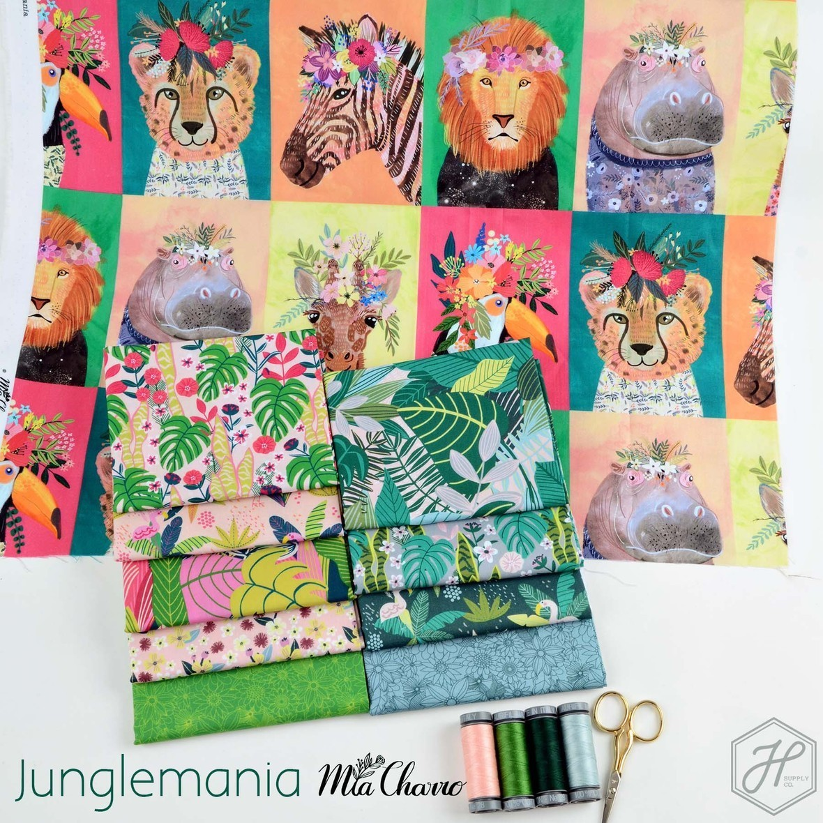 Junglemania Fabric Poster Mia Charro at Hawthorne Supply Co