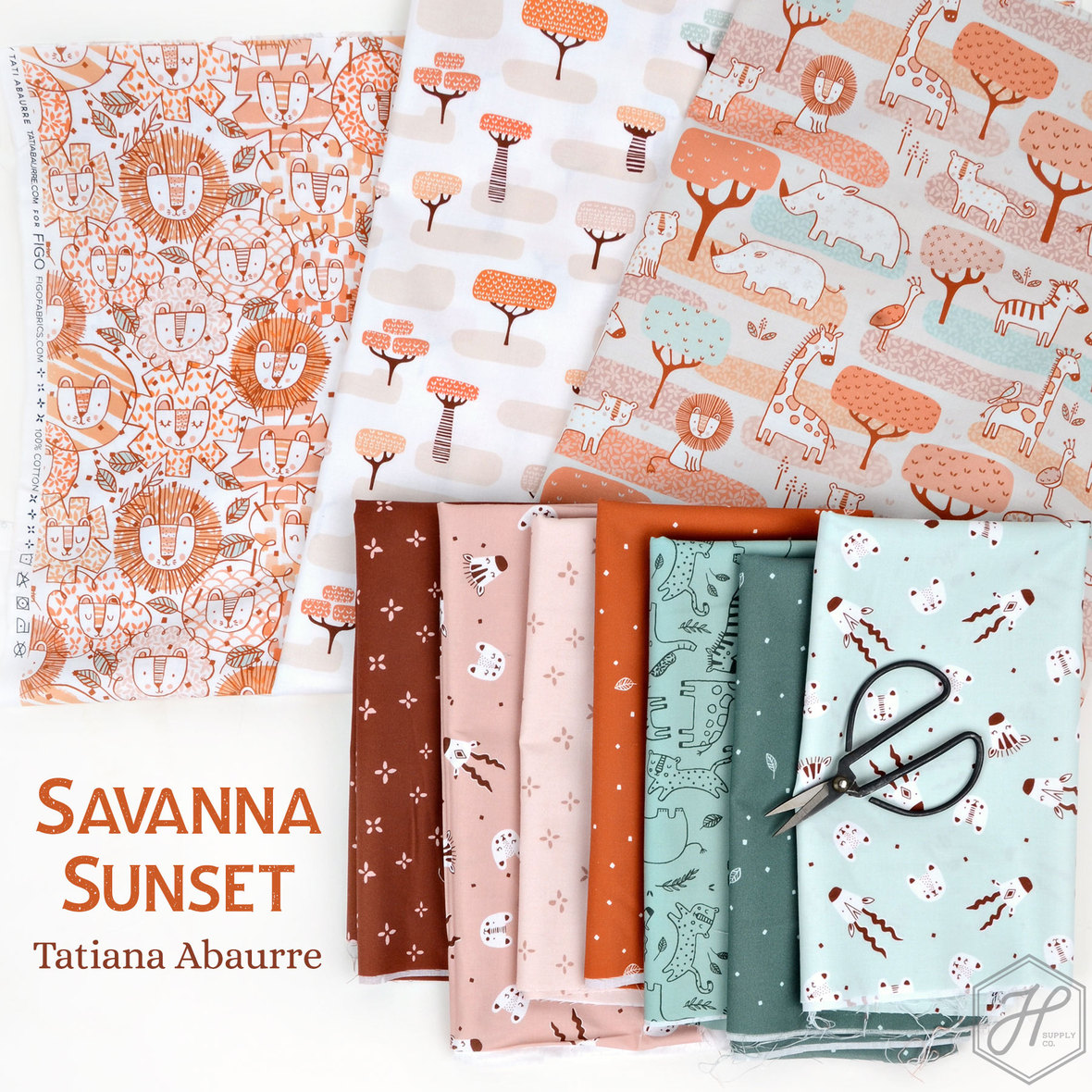 savanna-sunset-fabric-figo-at-Hawthorne-Supply-Co