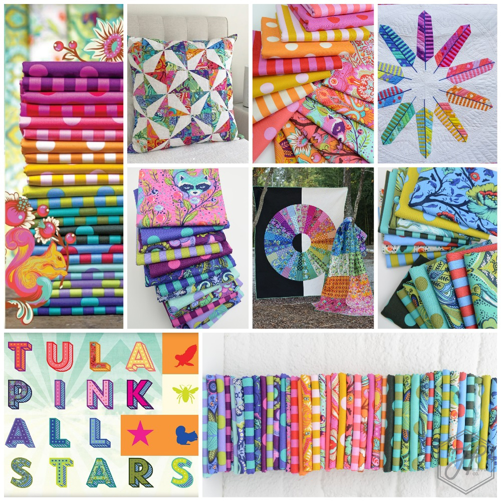 New Tula Pink All Stars Fabric Poster
