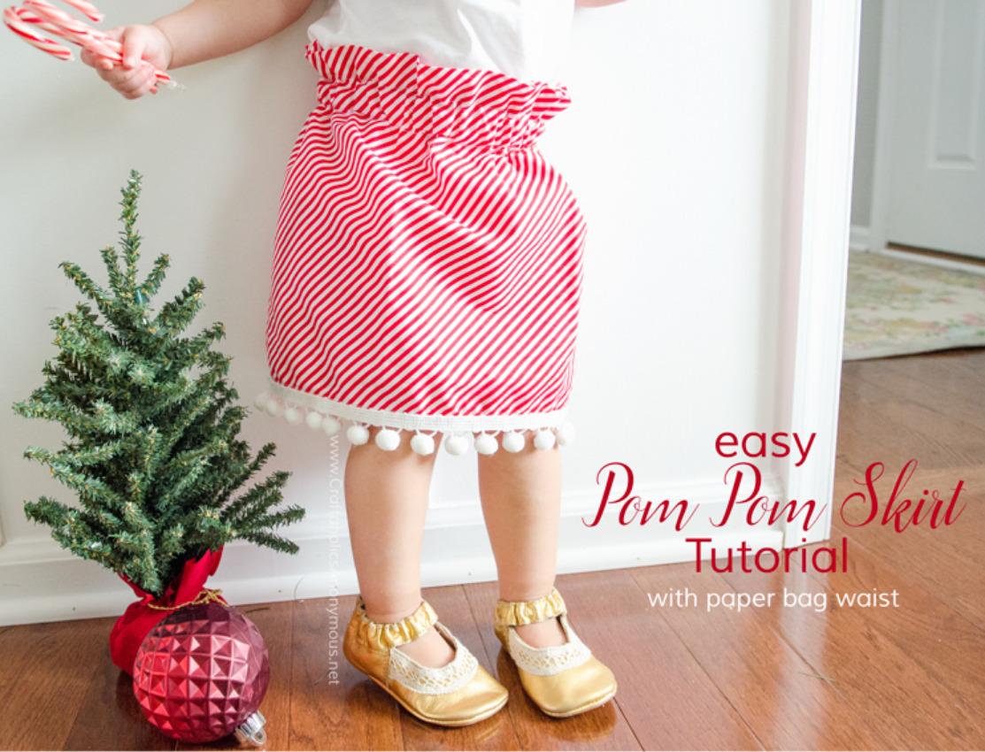 Screenshot 2020-11-24 Craftaholics Anonymous Candy Cane Stripe and Pom Pom Skirt Tutorial