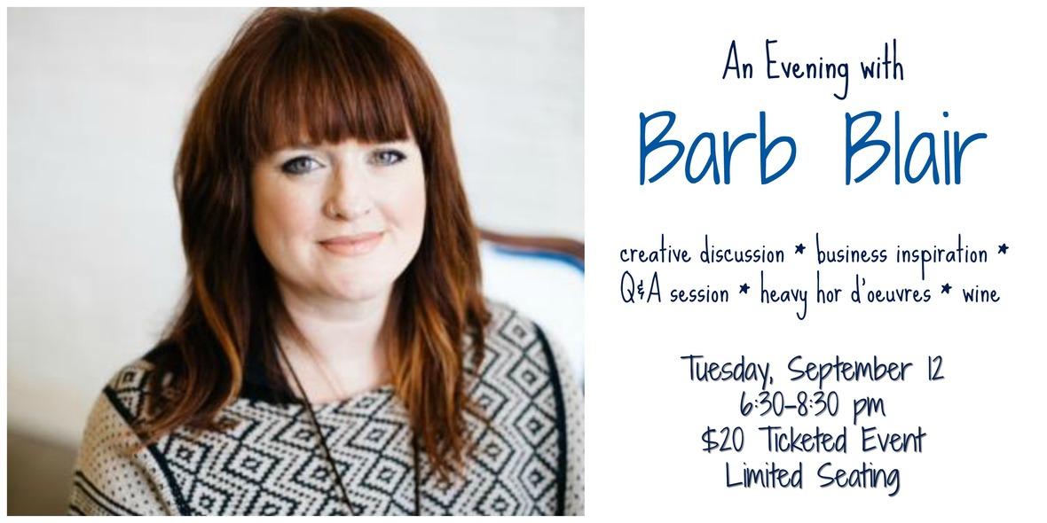 barb blair event