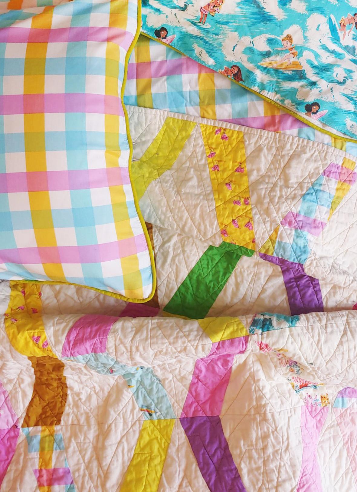 Ships Ladder Quilt pattern by denyse schmidt