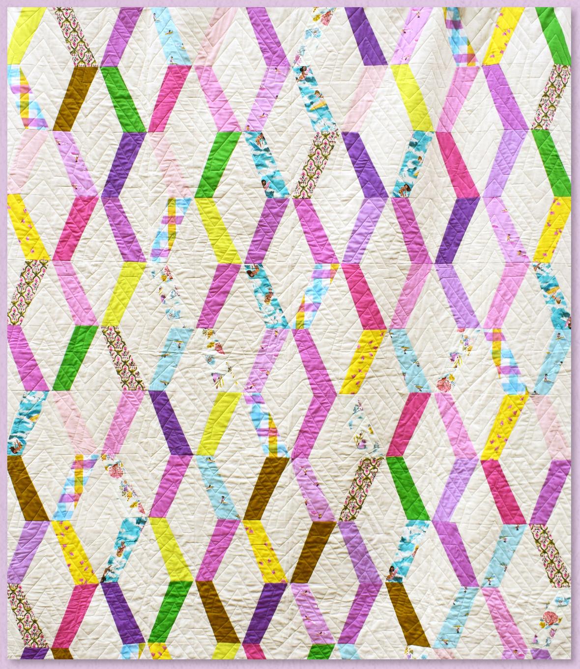 Ships Ladder Quilt pattern by denyse schmidt 2