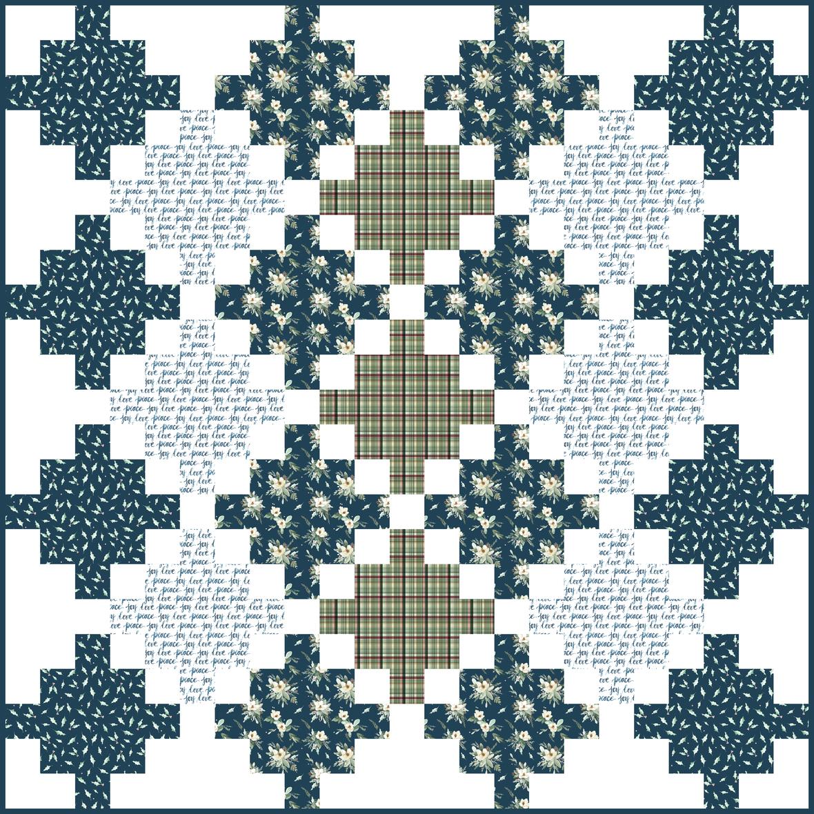 celtic crossing quilt 2