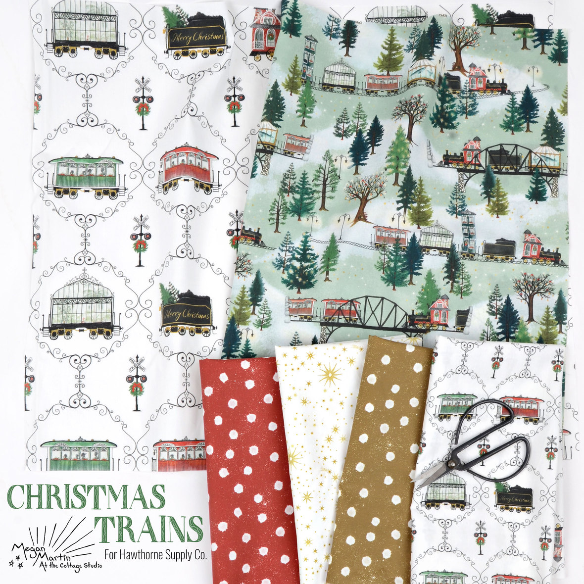 Megan-Martin-At-the-Cottage-Studio-Fabric-Christmas-Trains-at-Hawthorne-Supply-Co