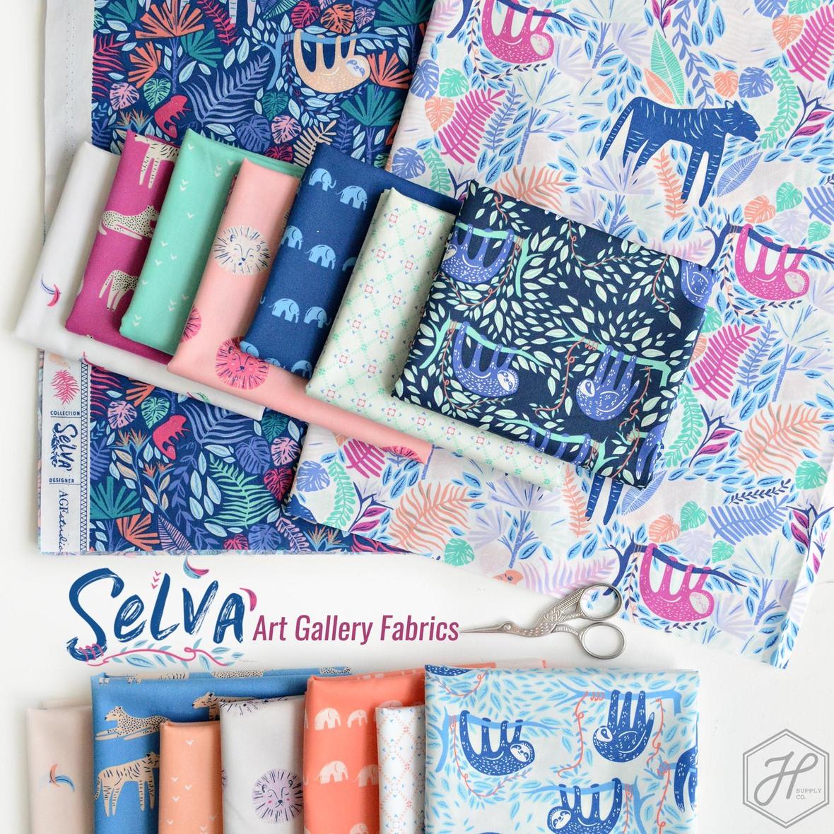 Selva Fabric Art Gallery at Hawthorne Supply Co.