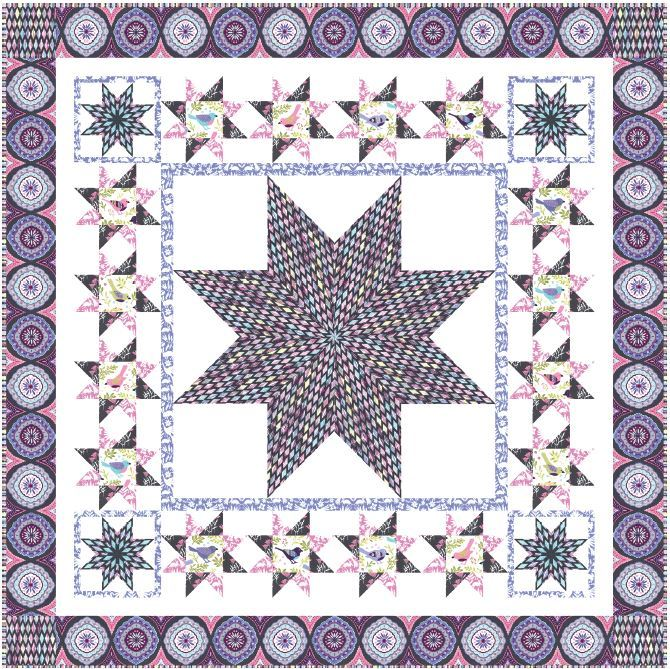 MM website- free quilt pattern PURPLE