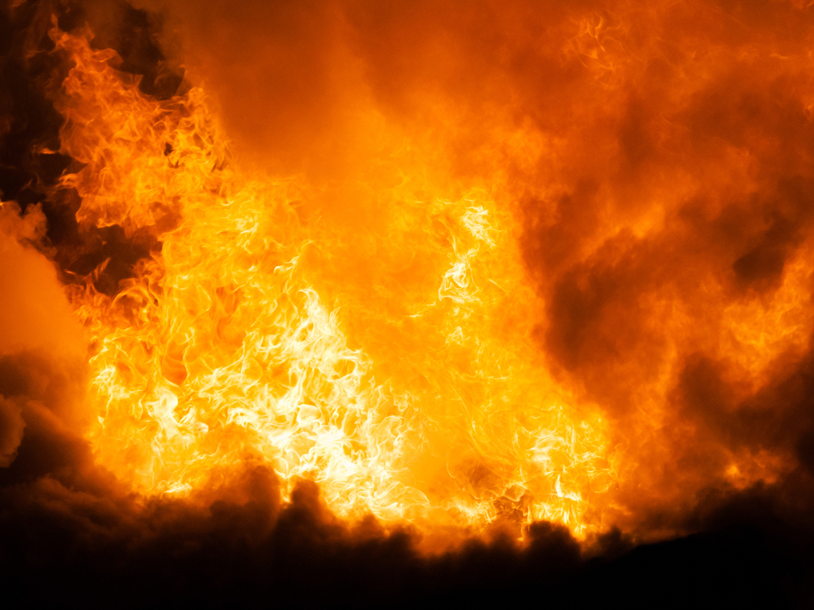 bigstock-Arson-or-nature-disaster--bur-46521472