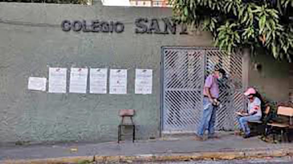 Centros de votación vacíos en Venezuela