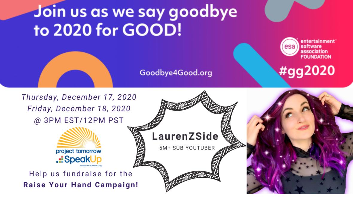 LaurenZside Livestream Twitter