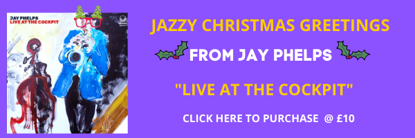 Jay Phelps jAZZ album Xmas 2