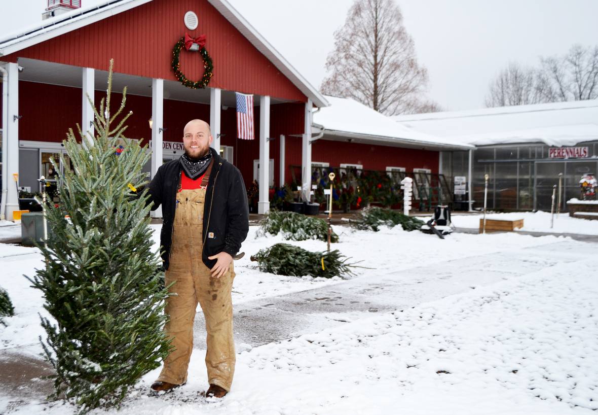 max with small fraser fir