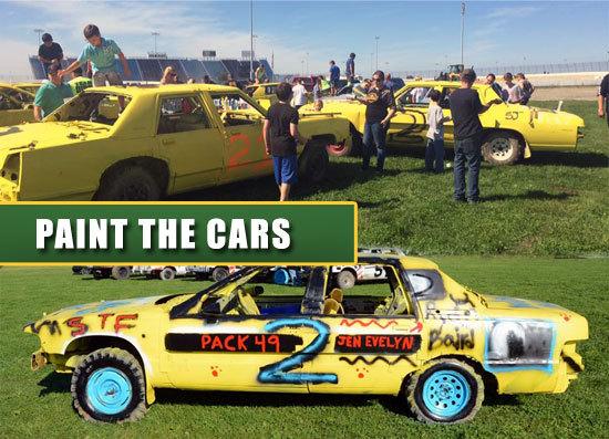 scouts-paint-cars
