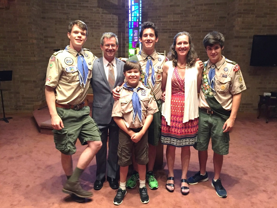 Old North State Council BSA Spotlight Photo for August 2017