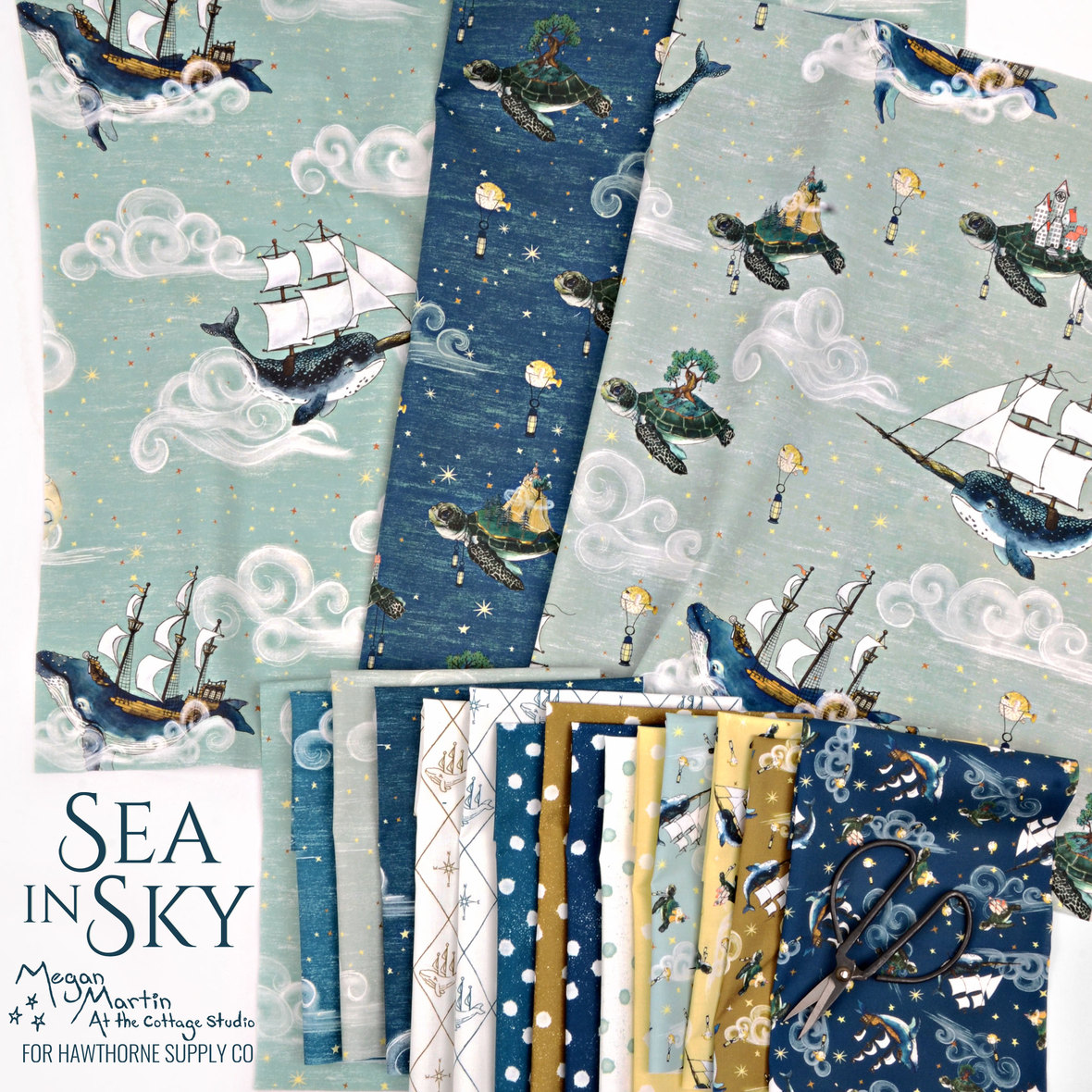 Sea-in-Sky-Fabric-Megan-Martin-At-the-Cottage-Studio-for-Hawthorne-Supply-Co