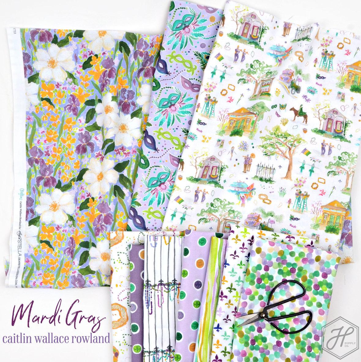 Mardi-Gras-Caitlin-Wallace-Rowland-for-Dear-Stella-at-Hawthorne-Supply-Co