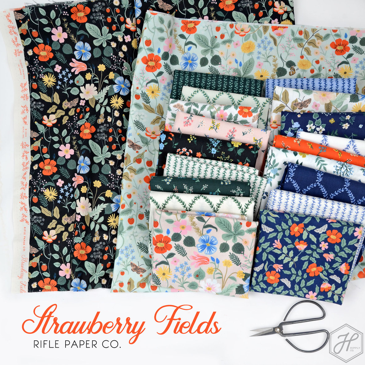Strawberry-Fields-Fabric-Rifle-Paper-Co-for-Cotton-and-Steel-at-Hawthorne-Supply-Co