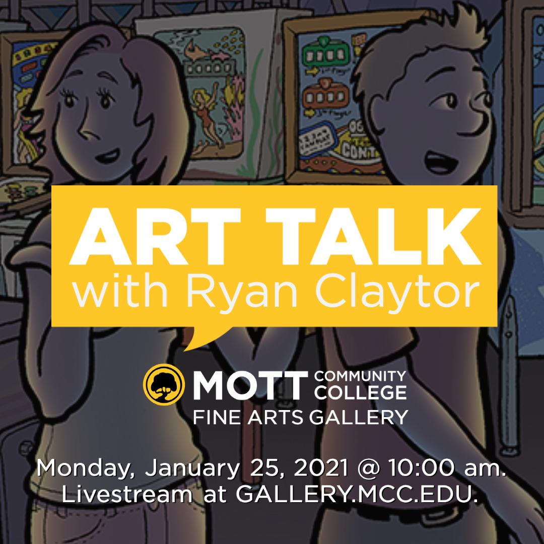 ART TALK with Ryan Claytor - Instagram