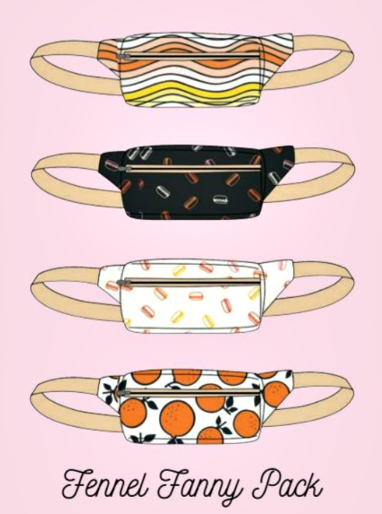 Fennel Fanny Pack pattern by Sarah Kirsten