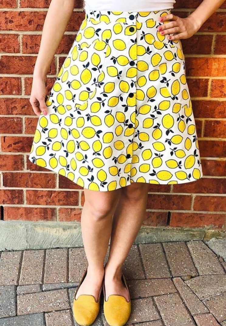 Fiore Skirt from Closet Core Patterns dana IG