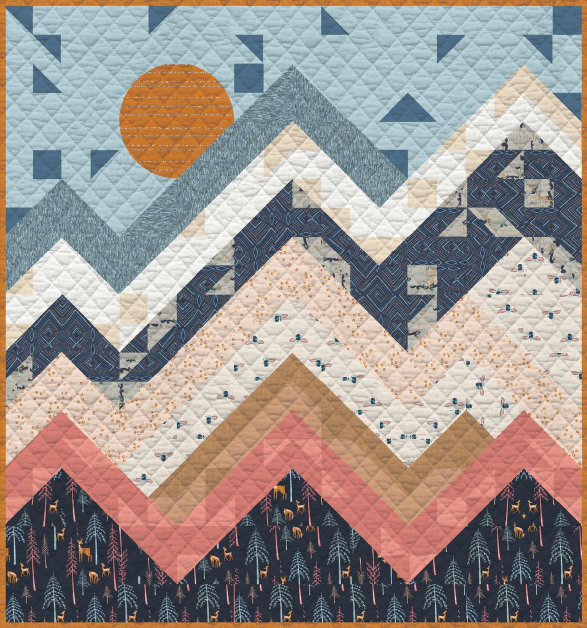 Wilderness Free quilt pattern