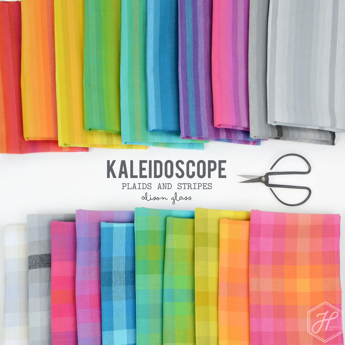 Kaleidoscope-Plaid-and-Stripe-Alison-Glass-for-Andover-fabric-at-Hawthorne-Supply-Co
