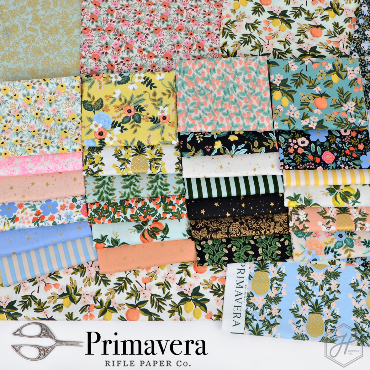 Primavera Fabric Poster Rifle Paper co at Hawthorne Supply Co