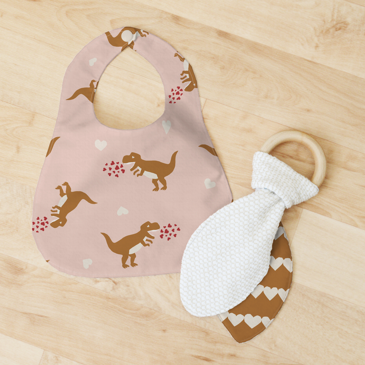 Bib and Teether 2