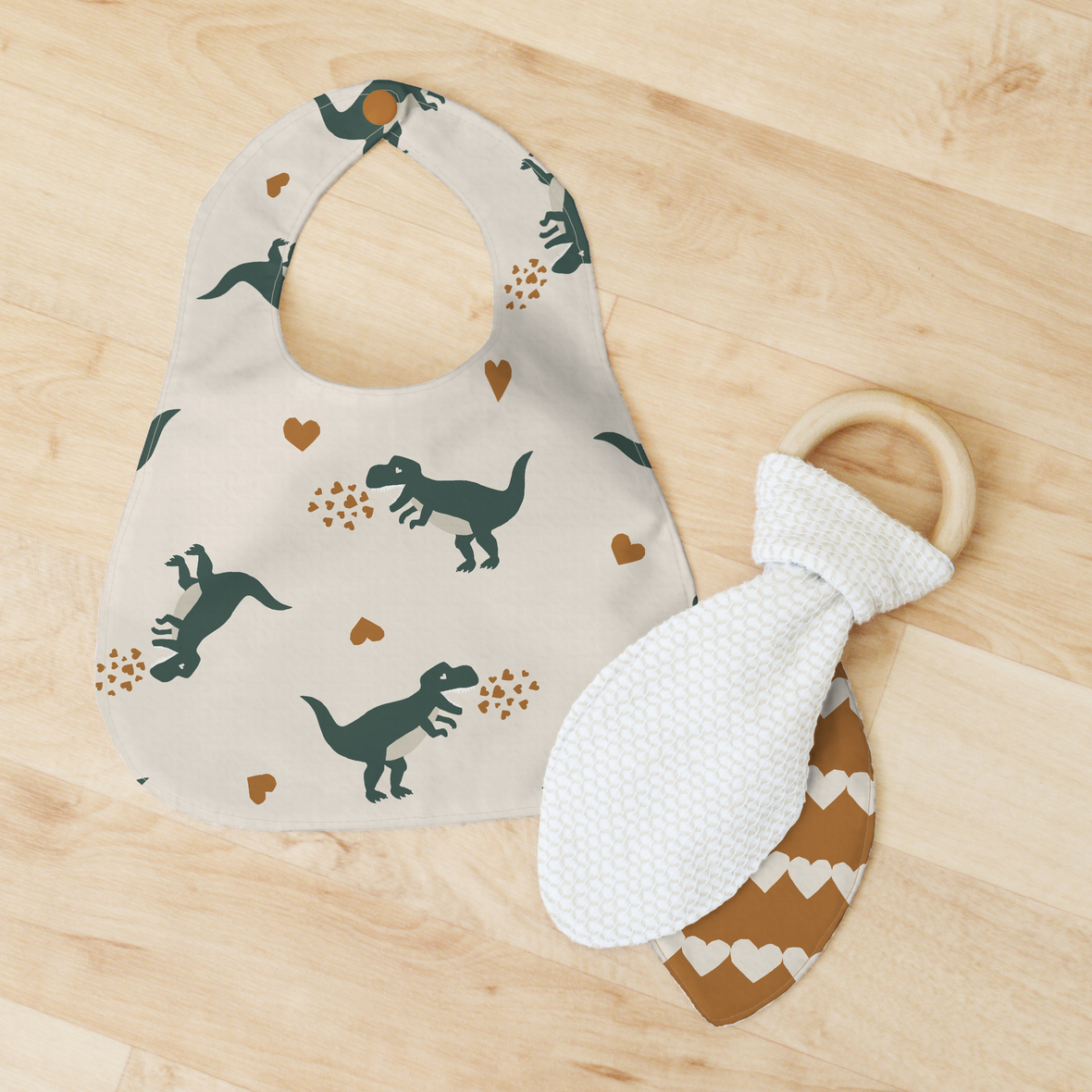 Bib and Teether