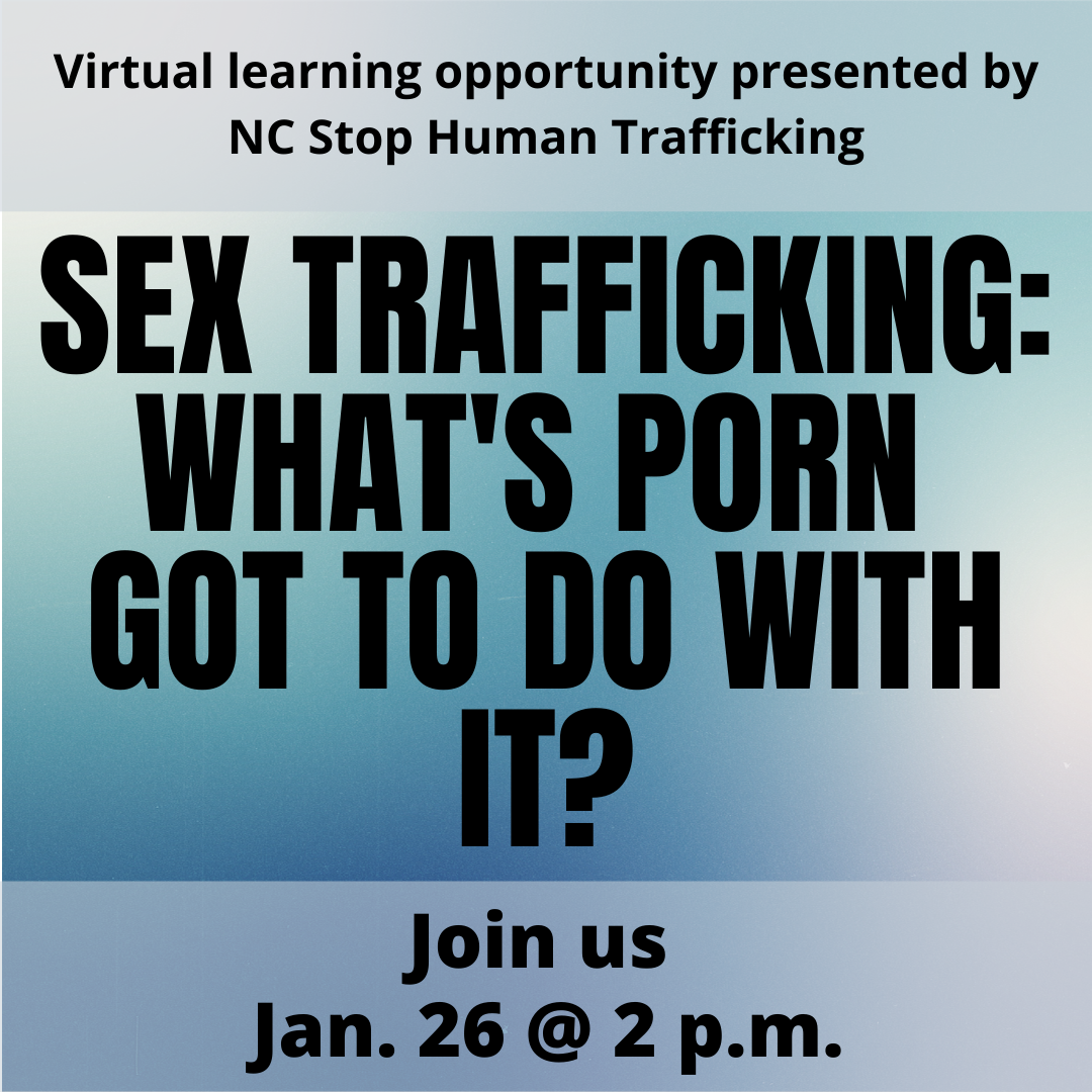Sex trafficking What s Porn Got to do with it