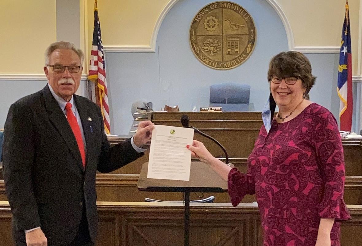 Pam Fville Mayor Jan 2021