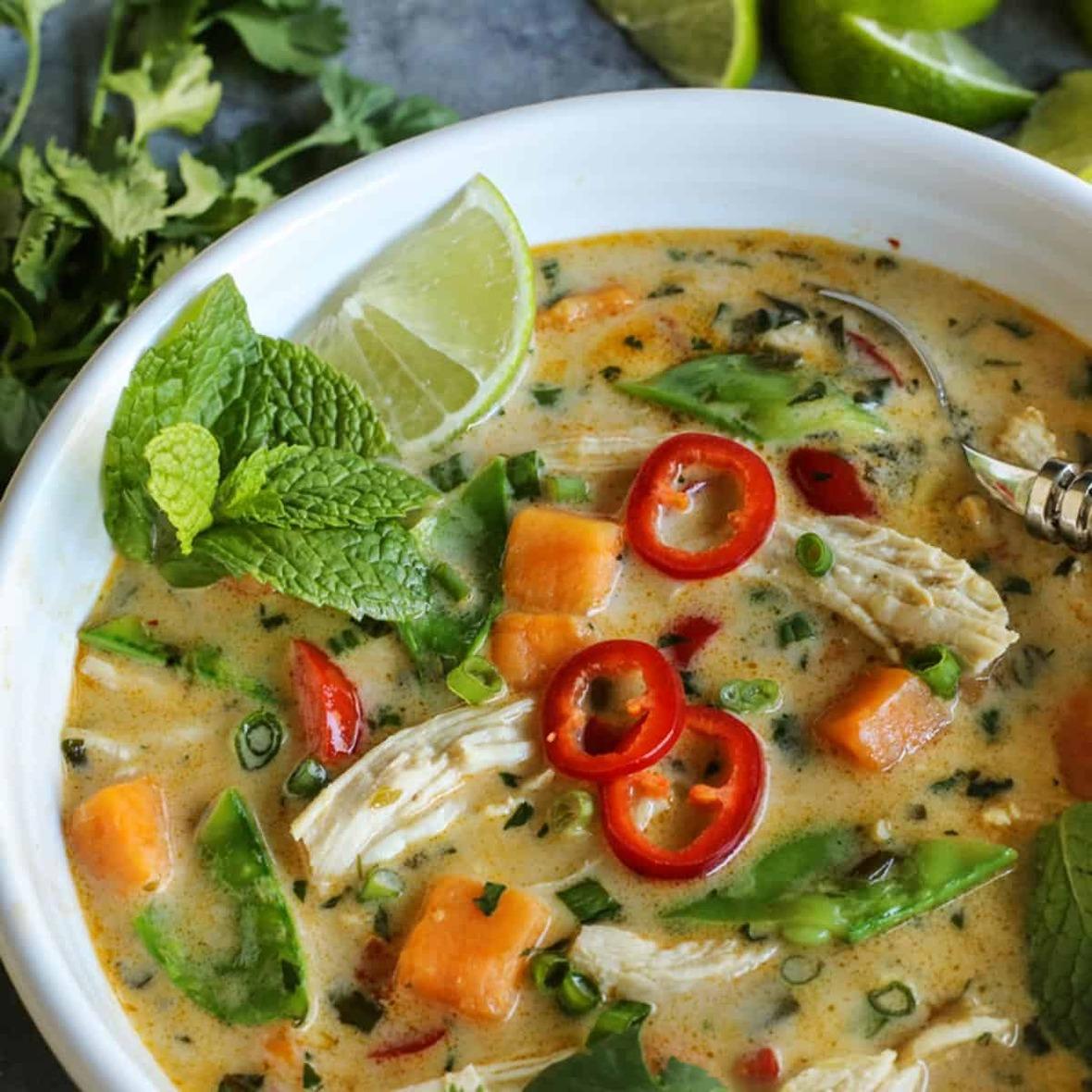 thai-chicken-soup AFarmgirlsDabbles AFD-4-2-sq