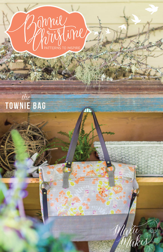 bonnie christine the townie bag sewing pattern