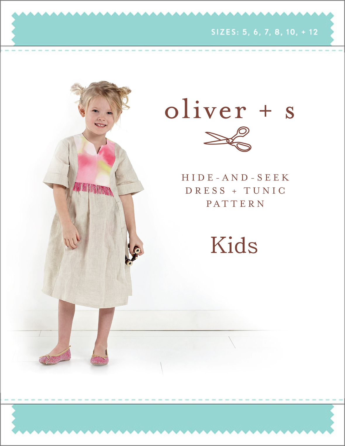 oliver and s  kids hide and seek dress and tunic sewing pattern