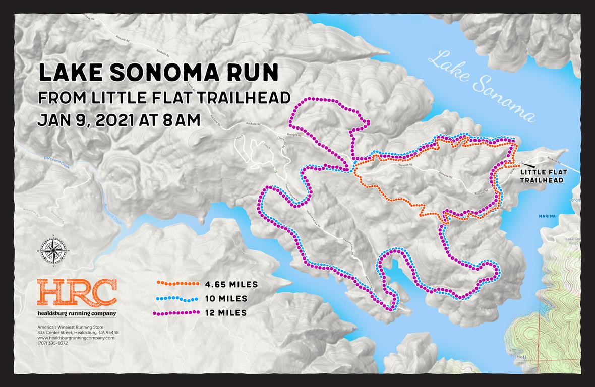 Jan9 2021 Lake Sonoma map