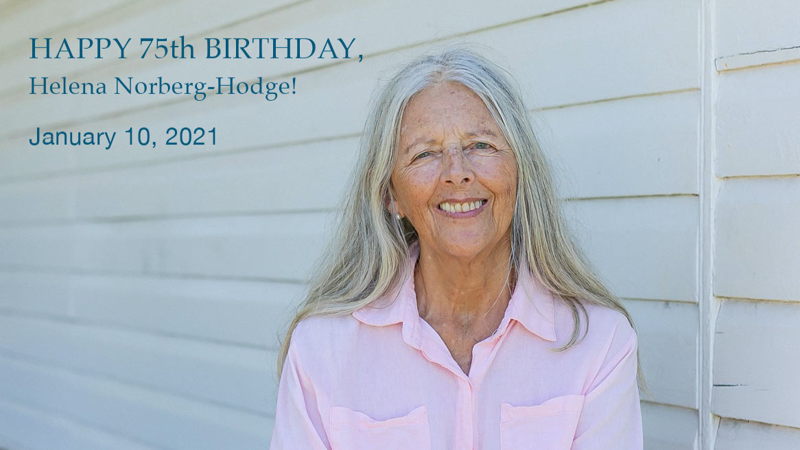 Helena Hodge 75 birthday