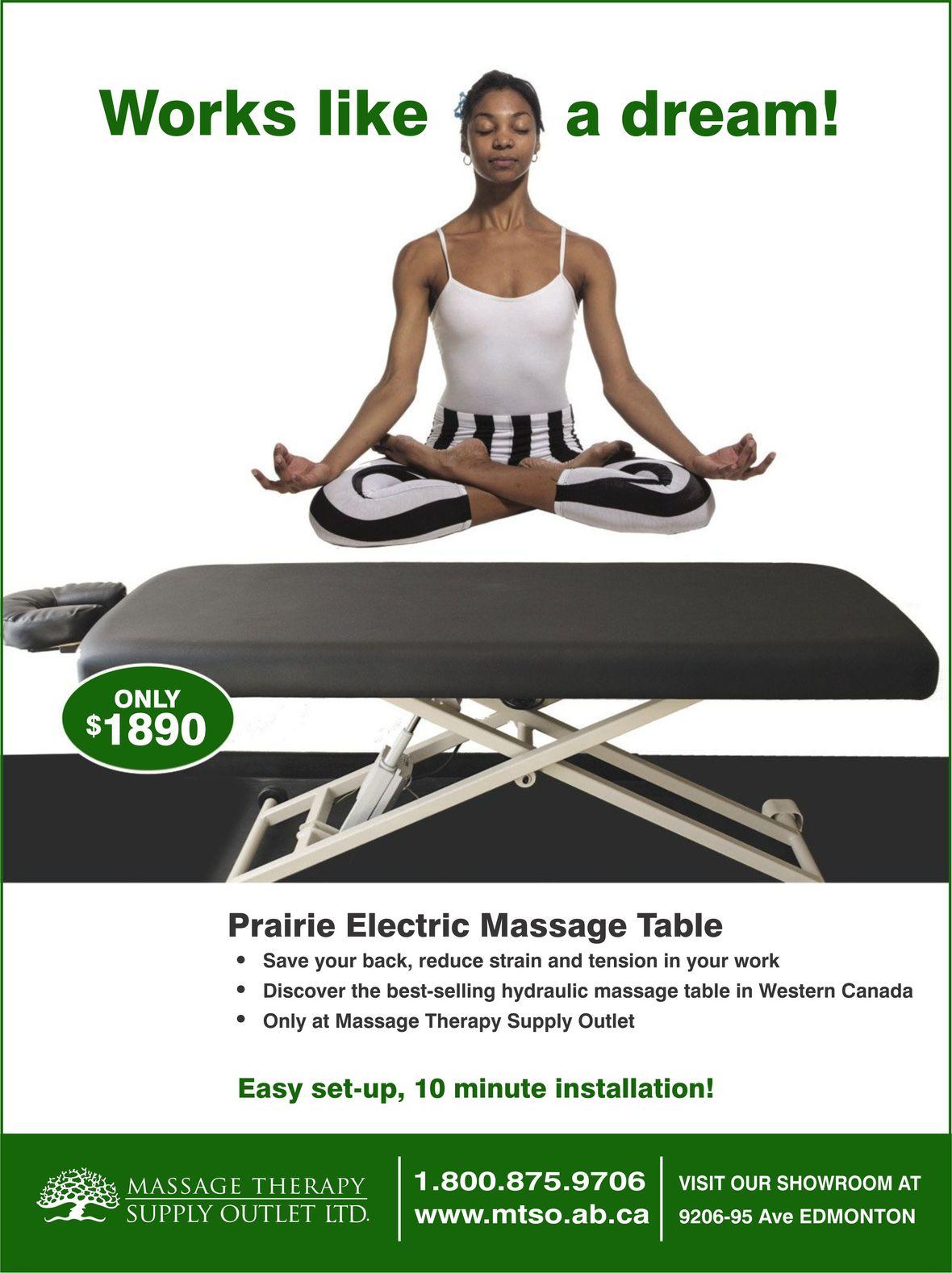 Prairie Massage Table