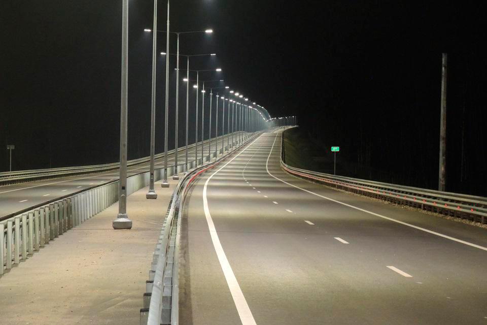 Стоимость замены дорожного освещения в Тульской области эксперты оценили в 323 млн рублей