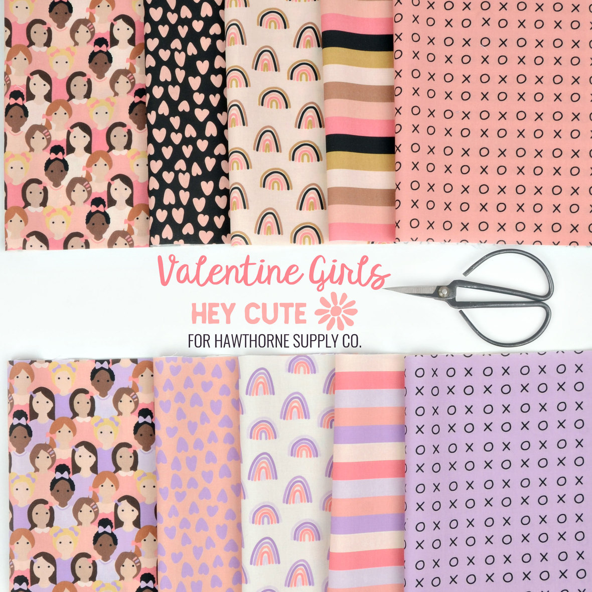 Valentine-Girls-Hey-Cute-for-Hawthorne-Supply-Co