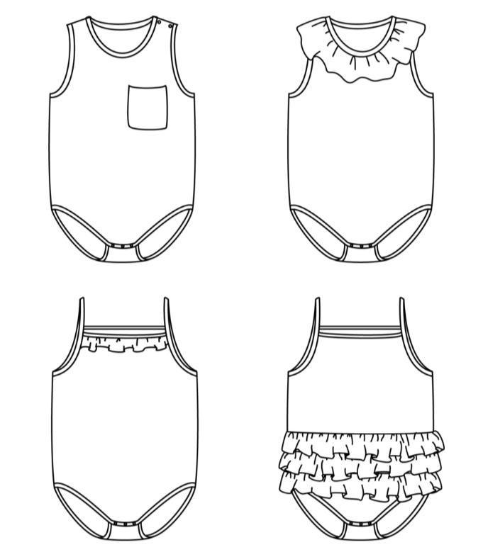 Screenshot 2021-01-15 MALAGA bodysuit - Baby 1M 4Y - PDF Sewing Pattern