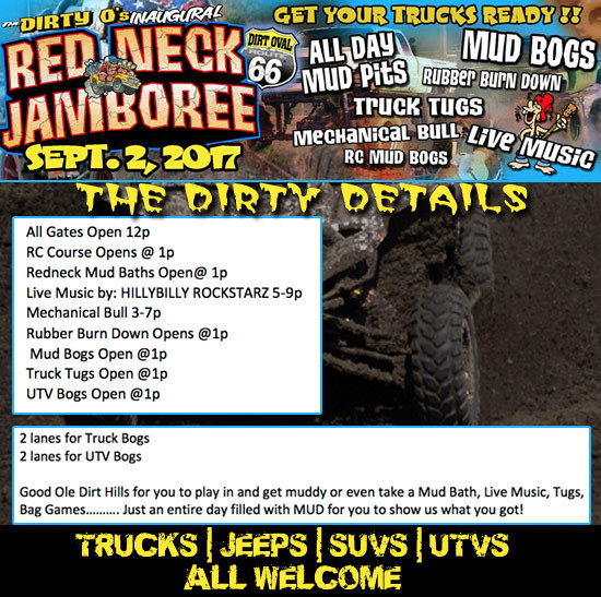 Redneck-Jamboree-Schedule