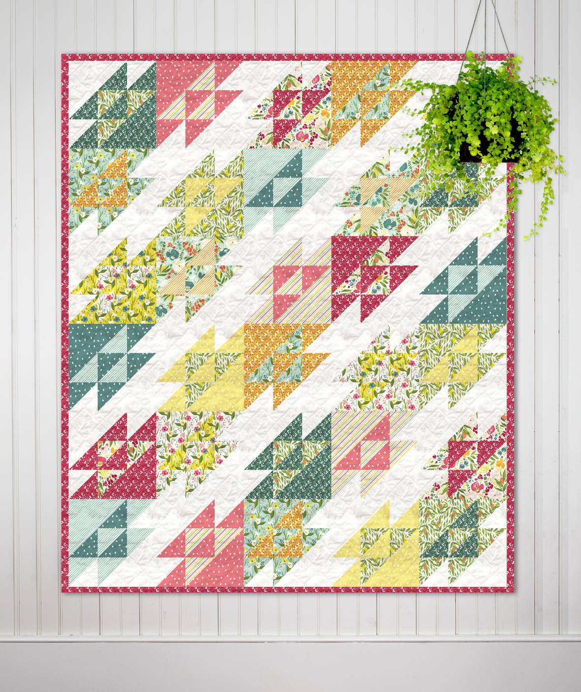 Georgie Quilt Pattern by Kitchen Table Quilting