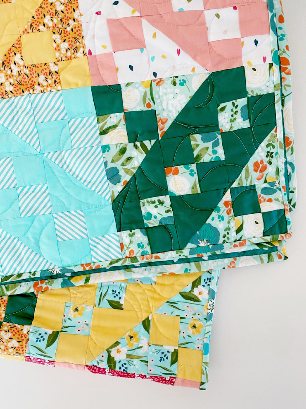 Jacobs Ladder quilt pattern by Jilie Baird free block pattern at generations quilt patterns