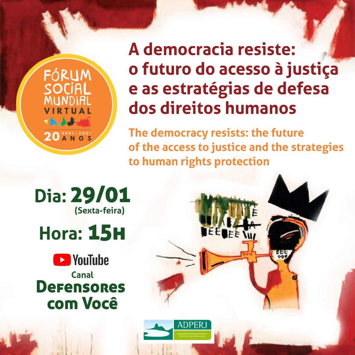 Card Democracia Resiste FMS JAN 2021