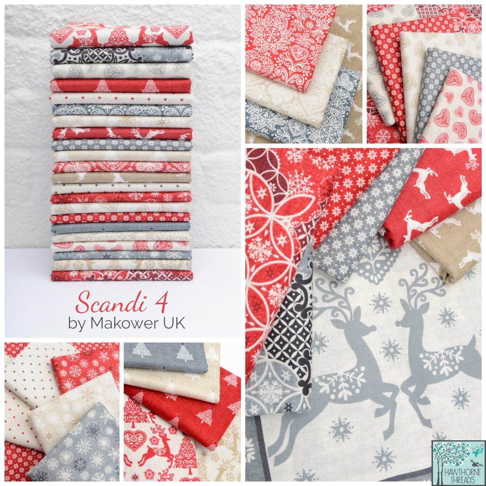 Scandi 4 fabric poster
