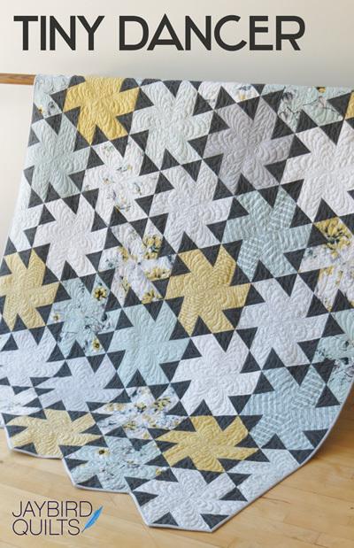 jaybird quilts  tiny dancer sewing pattern