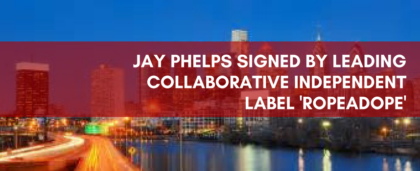 JAY PHELPS SIGNED BY LEADING COLLABORATIVE LABEL ROPEADOPE2