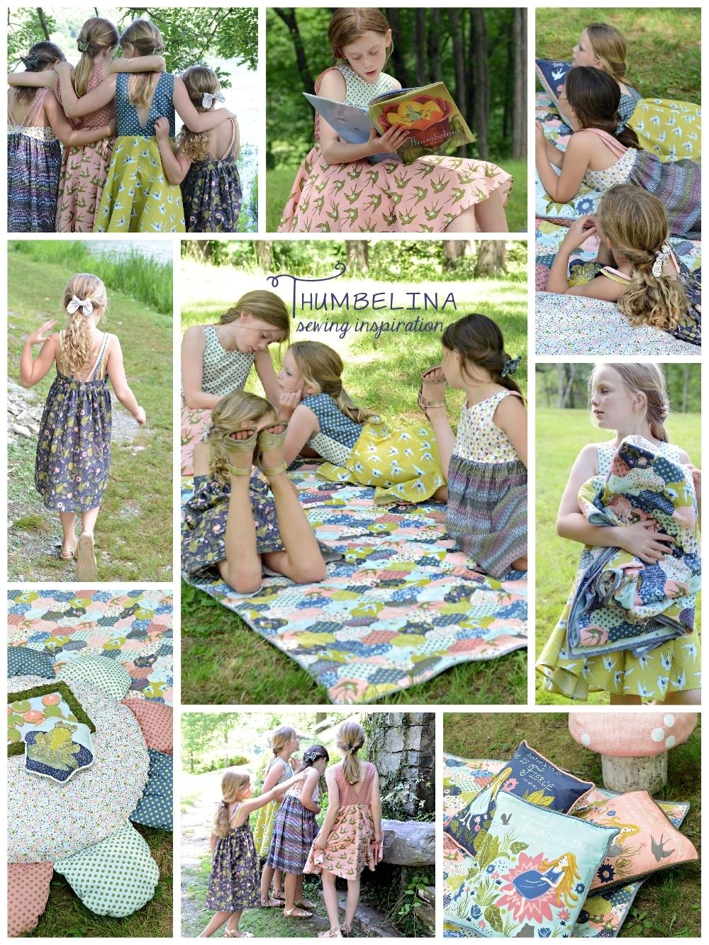 Thumbelina Fabric Sewing Inspiration 1000