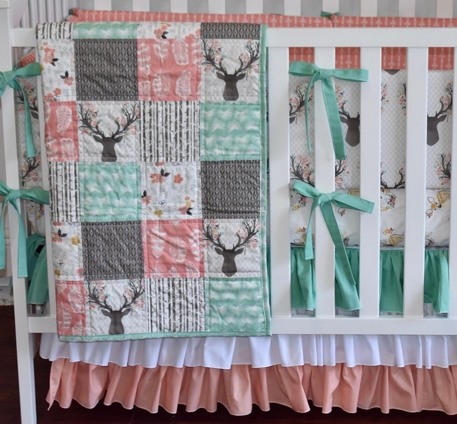 Fawn Fabric Quilt and Baby Bedding