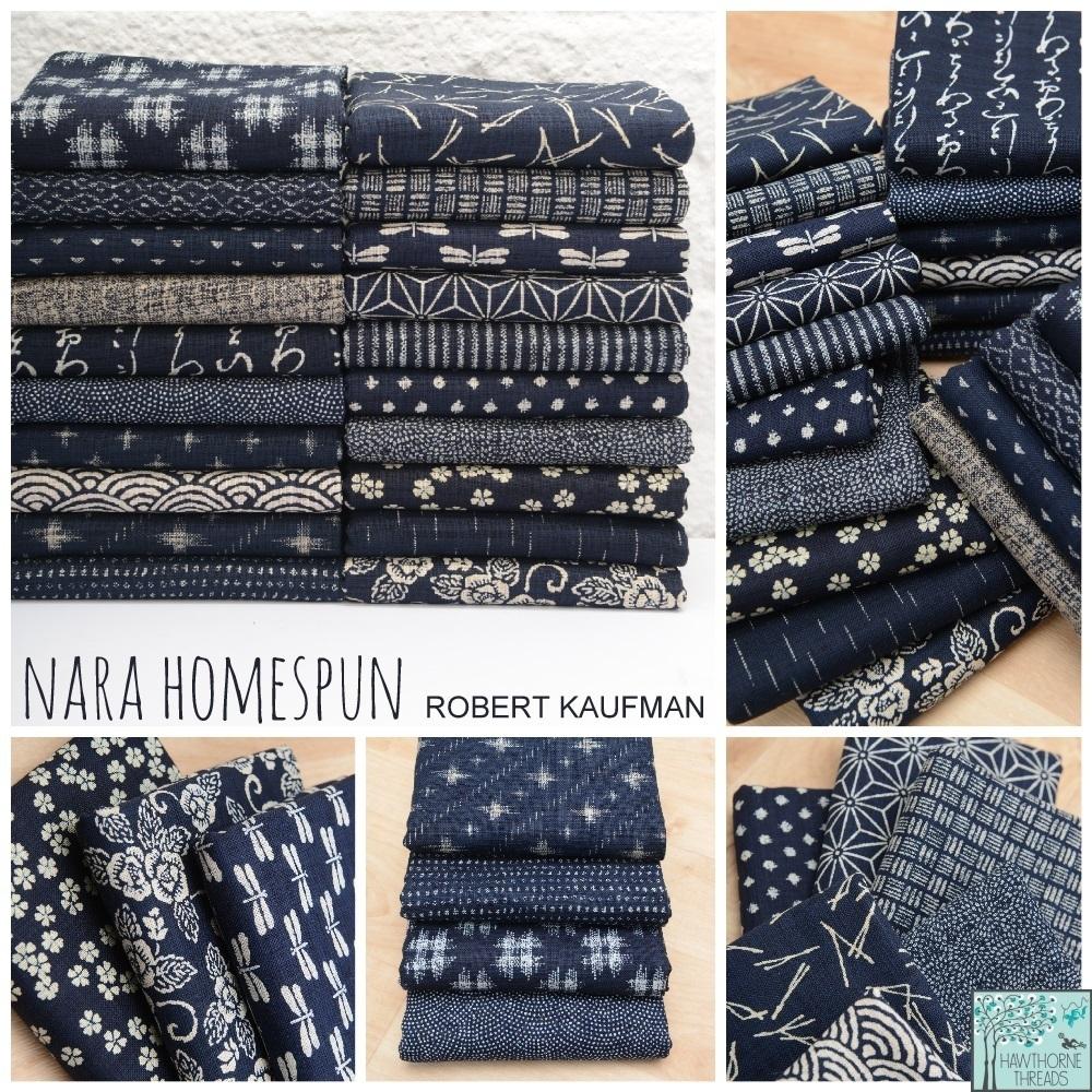 Nara Homespun Fabric Poster